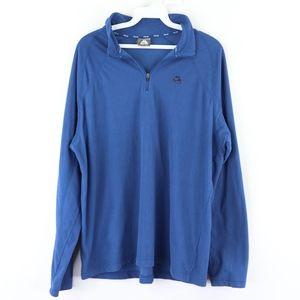 Vtg Nike ACG Mens Medium Spell Out Sweater Blue